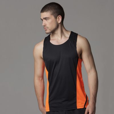 Cooltex® Mens Running Vest by Gamegear® Thumbnail