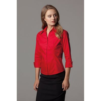 Corporate Oxford Shirt 3/4 Sleeved Womens Thumbnail