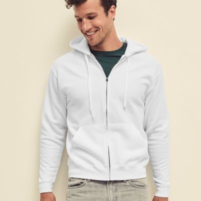 Hooded Sweat Jacket by Fruit of the Loom Thumbnail