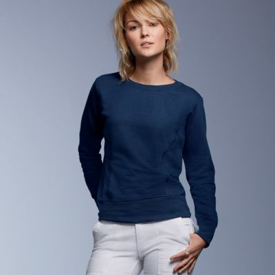 Ladies' Mid-Scoop French Terry Fleece Thumbnail