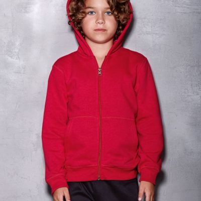 Active Childrens Sweat Jacket Thumbnail