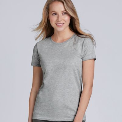 Ladies Premium Cotton T-Shirt by Gildan  Thumbnail