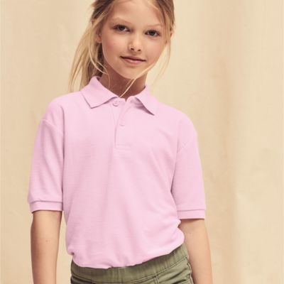 Children's  Polo Shirt by Fruit of the Loom Thumbnail