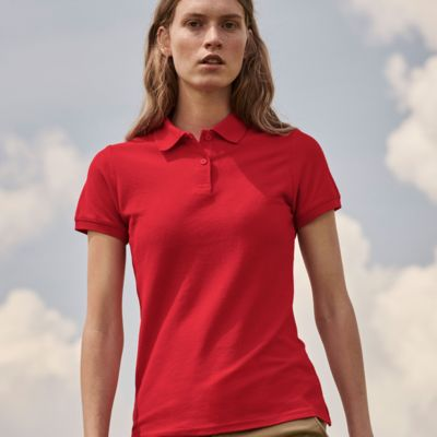 Ladies  Polo Shirt by Fruit of the Loom Thumbnail