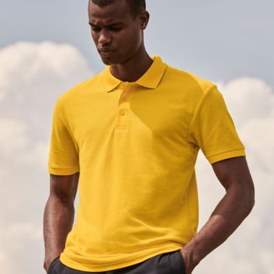 Polo Shirt by Fruit of the Loom Thumbnail