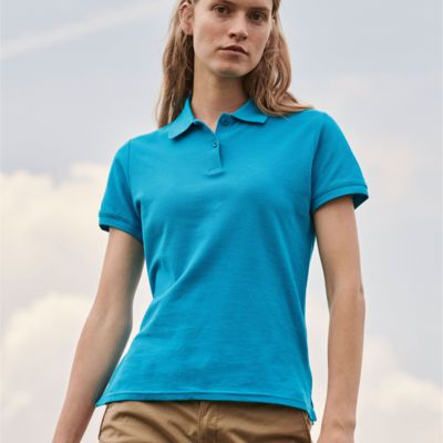 Ladies Premium  Polo Shirt by Fruit of the Loom Thumbnail