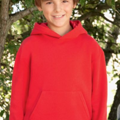 Children's Hooded Sweatshirt by Fruit of the Loom  Thumbnail