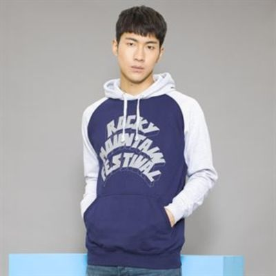 Baseball Hooded Sweatshirt by AWD Thumbnail
