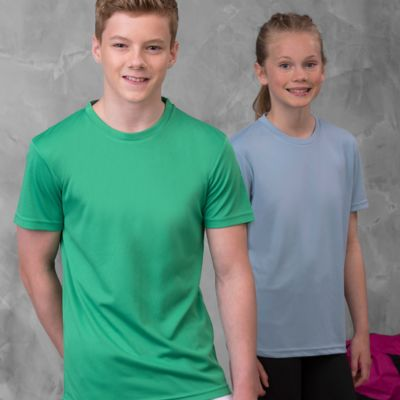 Children's Performance T Shirt by AWD Thumbnail
